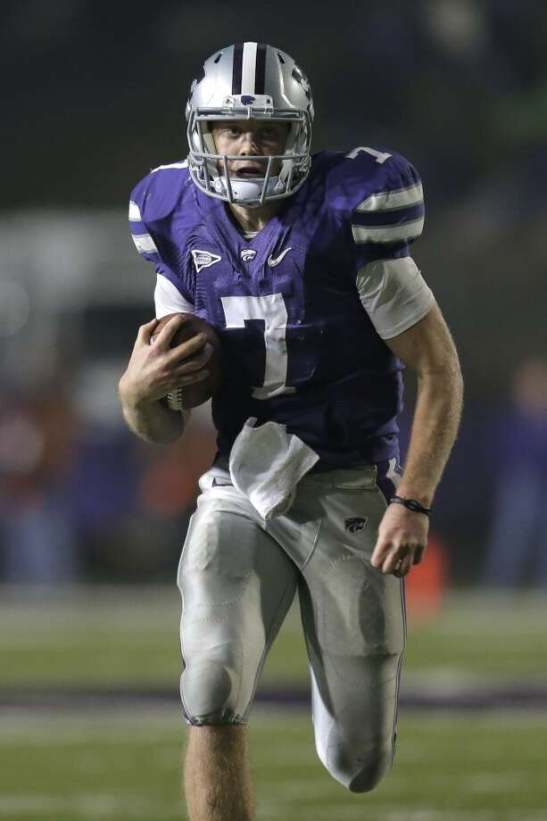 Undrafted free agent (tryout)Kansas State quarterback Collin Klein Photo: Charlie Riedel, Associated Press