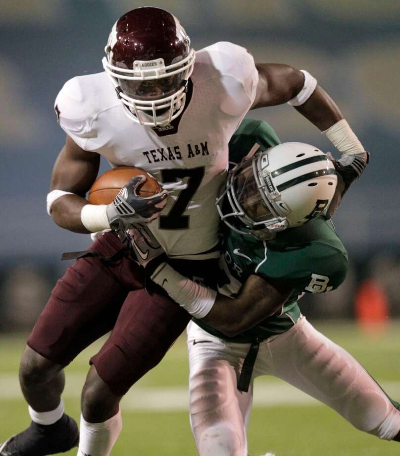Undrafted free agentTexas A&M wide receiver Uzoma Nwachukwu. Photo: Julio Cortez, Houston Chronicle