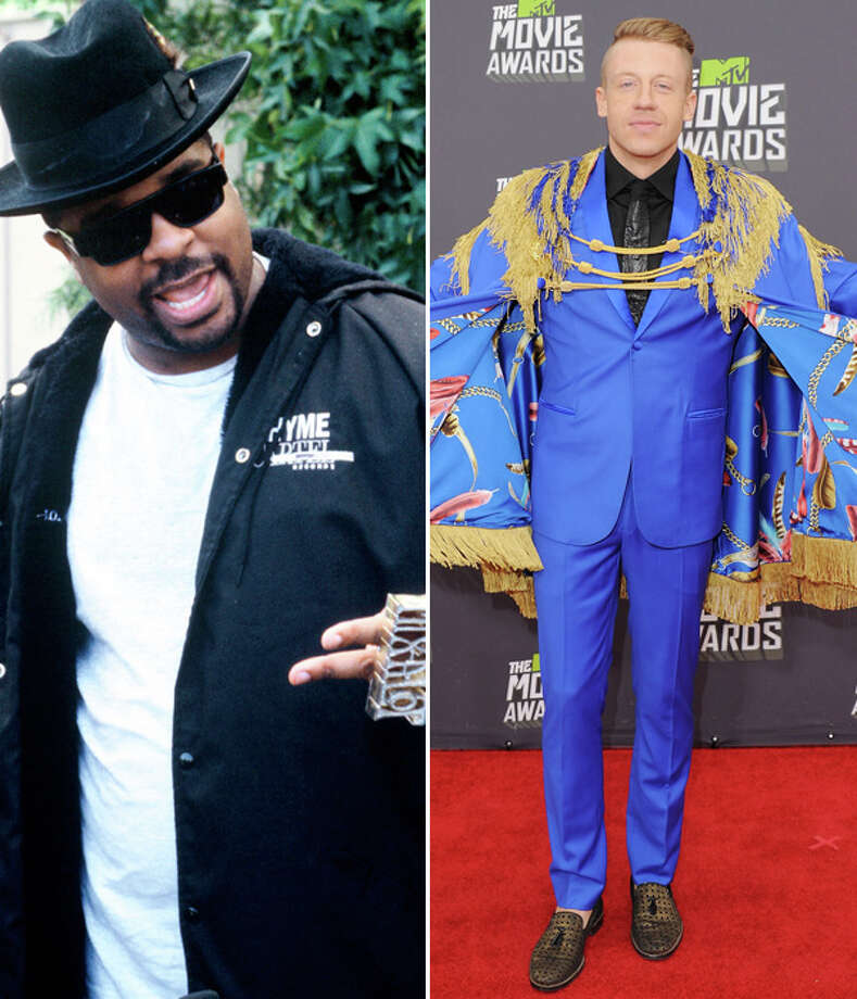 Sir Mix-a-Lot and Macklemore. They can work on making the first great Mars music; apparently, Macklemore has been trying to get Sir Mix in on his music anyway. Photo: Multiple