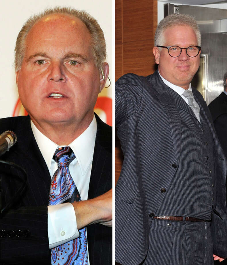 Rush Limbaugh and Glenn Beck. Apparently neither one of them has to be on Earth to do what they do (whatever that is). Photo: Multiple