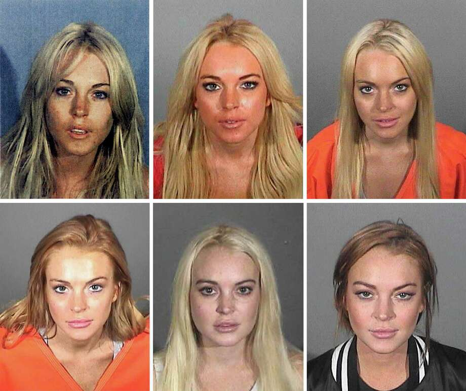 Lindsay Lohan. Get that rehab thing completely under control. (Gil K. can help.) Photo: Handout, Multiple / 2007 Los Angeles County Sheriff's Department