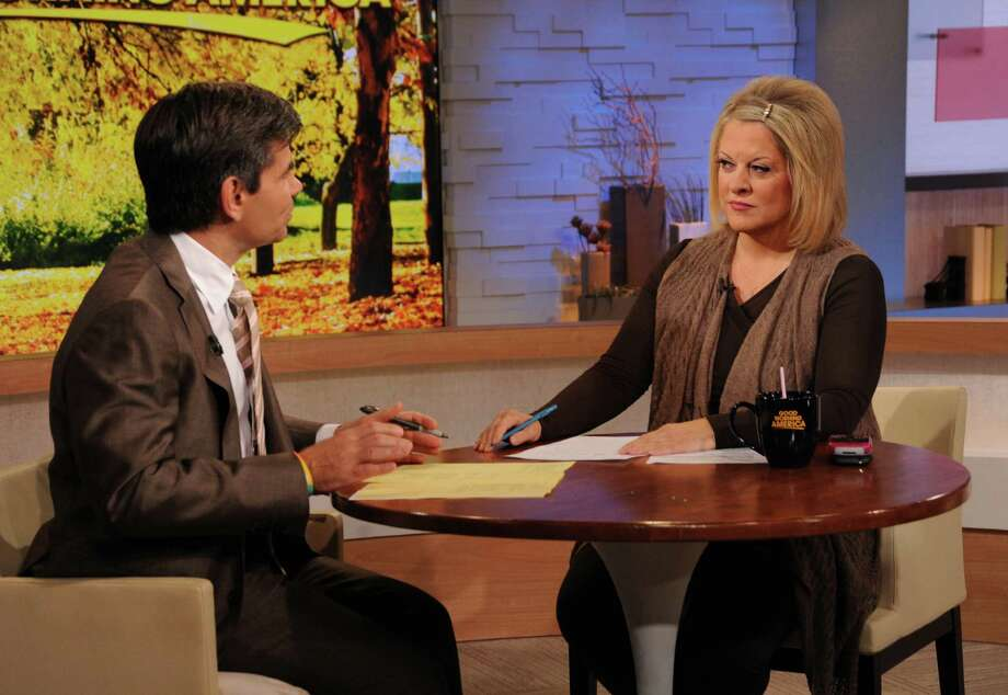 Nancy Grace as moderator of the debates. Wowza. Photo: Donna Svennevik, Multiple / 2012 American Broadcasting Companies, Inc.