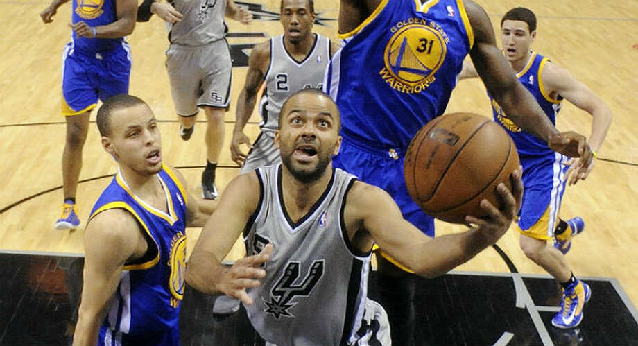 Tony Parker and the Spurs found themselves behind early in the first two games of the series. Edward A. Ornelas / San Antonio Express-News