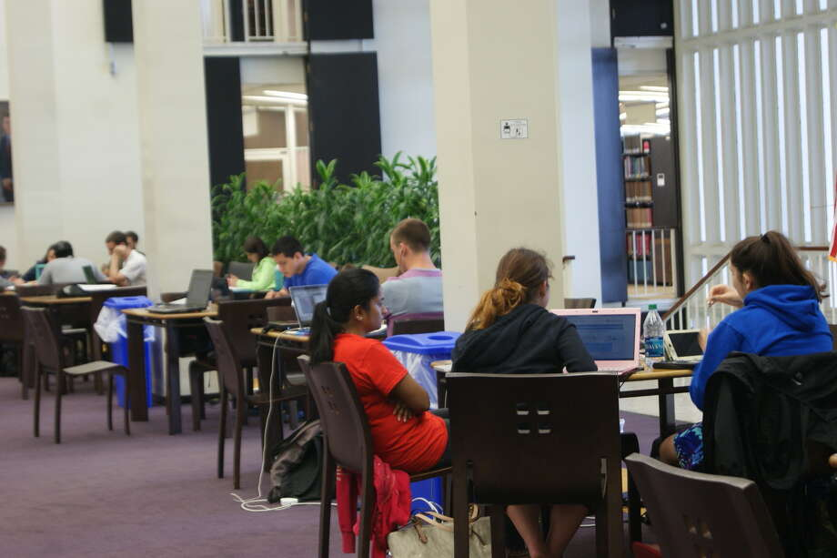 Were you Seen on Reading Day, UAlbany's study day before finals, on Thursday, May 9, 2013? Photo: Ariel Rehr