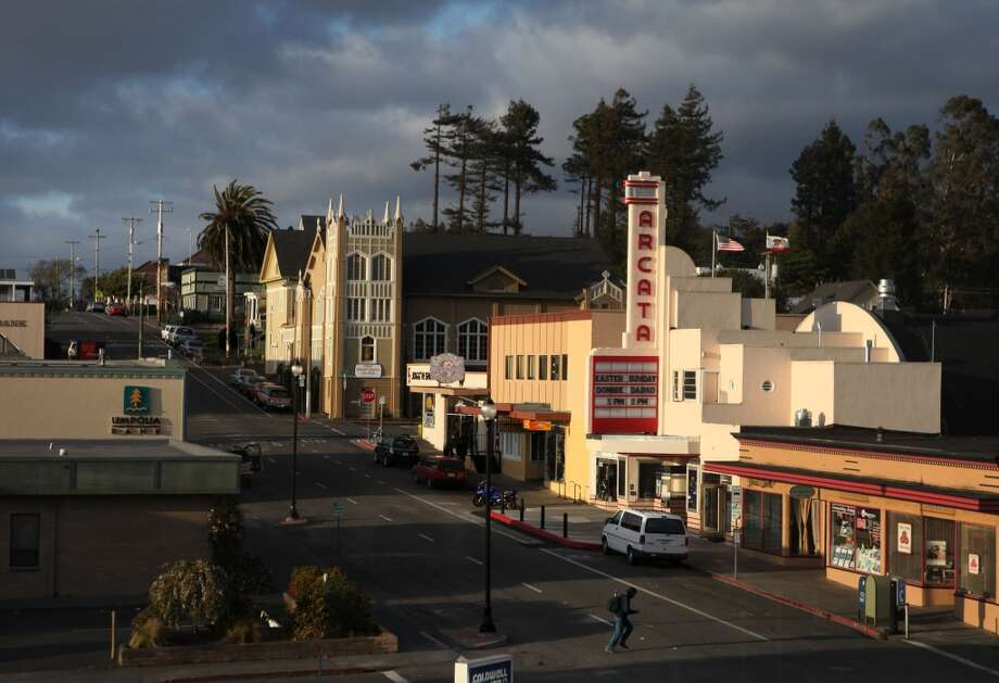 Arcata:Rain and fog are often in the forecast, but this      bayside college town -- home to Humboldt State University -- is highly walkable, with charming vintage architecture and breathtaking redwood forests and empty beaches nearby.