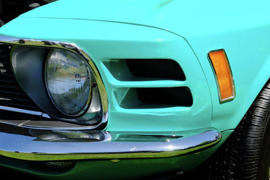 Front slats on a '70 Boss 302. / copyright: Dan Lyons - 2013