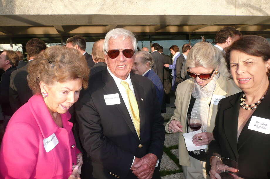 "On May 8, 2013, Russell ""Russ"" Reynolds hosted an ""Open House"" of the new headquarters of RSR Partners, an executive search and corporate board recruiting firm,  at 600 Steamboat Road, overlooking Greenwich Harbor. Photo: Anne W. Semmes"