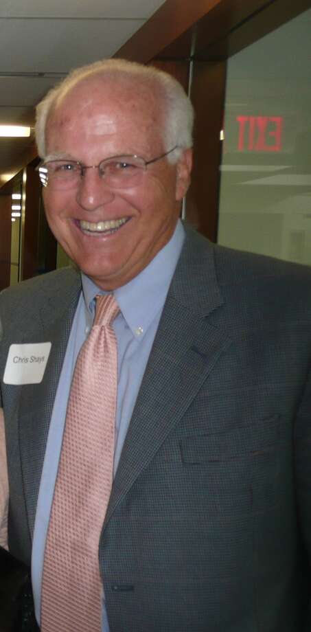 """On May 8, 2013, Russell """"Russ"""" Reynolds hosted an """"Open House"""" of the new headquarters of RSR Partners, an executive search and corporate board recruiting firm,  at 600 Steamboat Road, overlooking Greenwich Harbor. Photo: Anne W. Semmes"""