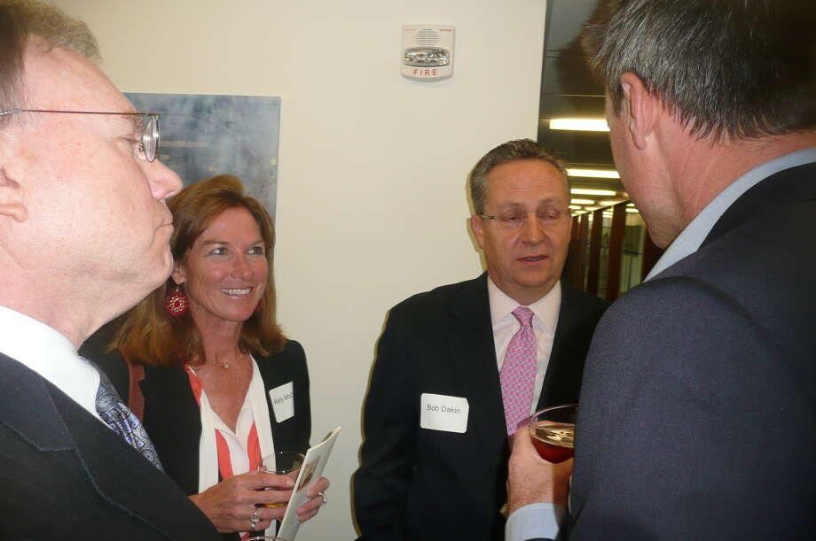 "On May 8, 2013, Russell ""Russ"" Reynolds hosted an ""Open House"" of the new headquarters of RSR Partners, an executive search and corporate board recruiting firm,  at 600 Steamboat Road, overlooking Greenwich Harbor. Photo: Picasa, Anne W. Semmes"