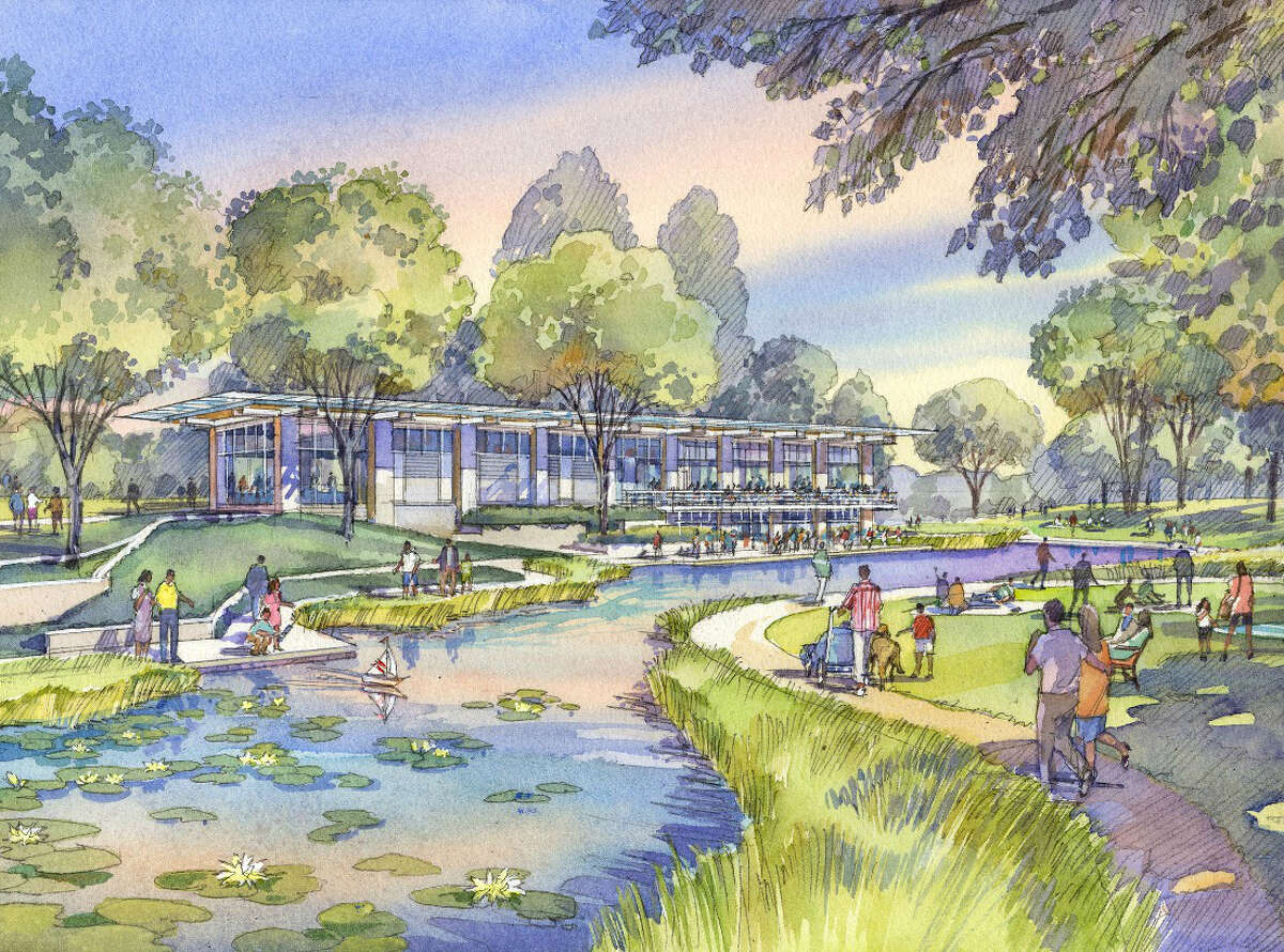 The Lost Lake area of Buffalo Bayou Park near Allen Parkway and Dunlavy will feature a wetland garden around a restored pond.