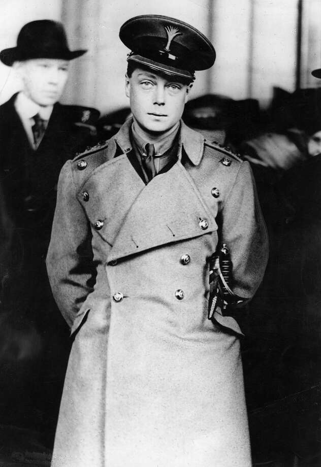 1919: The Prince of Wales, who abdicated as King Edward VIII visits Washington in 1919, he never visited as a monarch, however. Photo: Topical Press Agency, Getty Images / Hulton Royals Collection