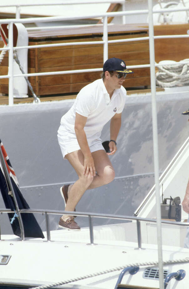 1983: Prince Andrew visits Newport, Rhode Island. Photo: David Levenson, Getty Images / 1983 David Levenson