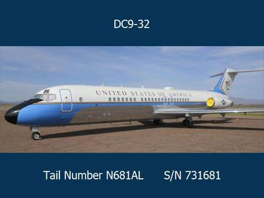 The U.S. government is auctioning off a McDonnell Douglas DC9-32 that was used in presidential missions from 1975 to 2005. Photo: General Service Adminstration