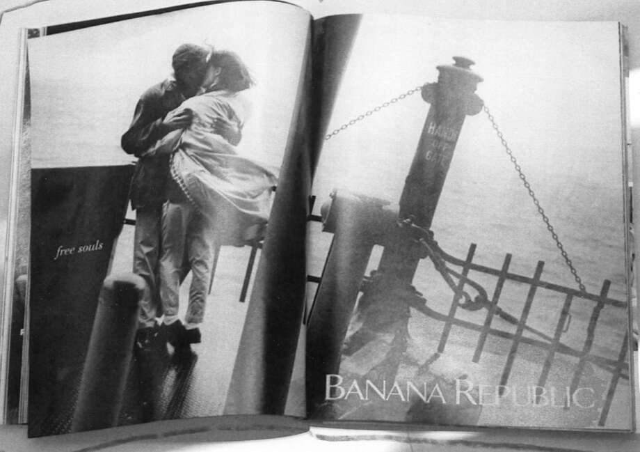 Oct. 30, 1990: The new Banana Republic look debuts in a Vanity Fair magazine advertisement.