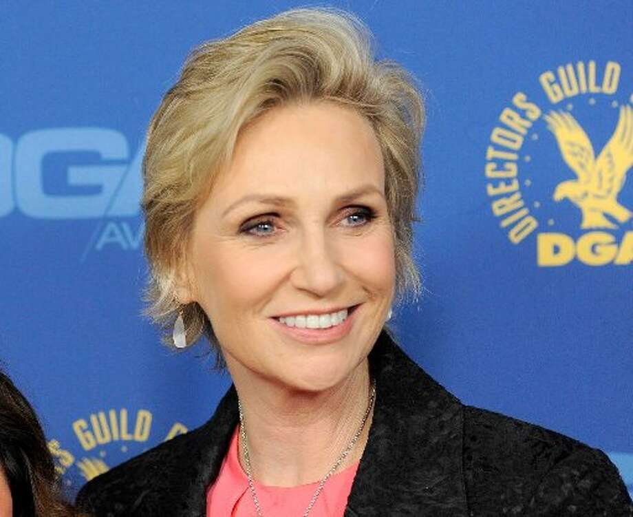 Jane Lynch talked current events at Smith College when she talked about women's rights and health care in 2012.