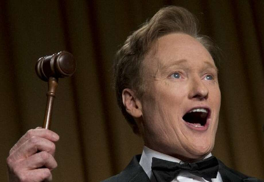 Harvard has gotten some big names to speak. Conan O'Brien, who spoke to Harvard back in 2000, may be the biggest one.