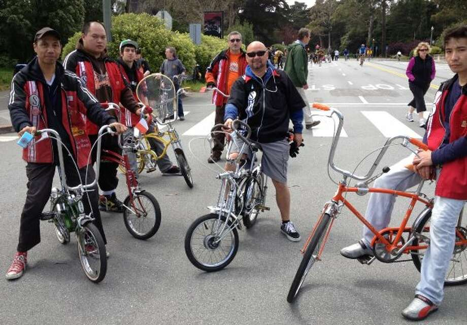 Sunday Streets in Golden Gate Park. Members of the Frisco Bay Sting-Rays,  Apr 15, 2013