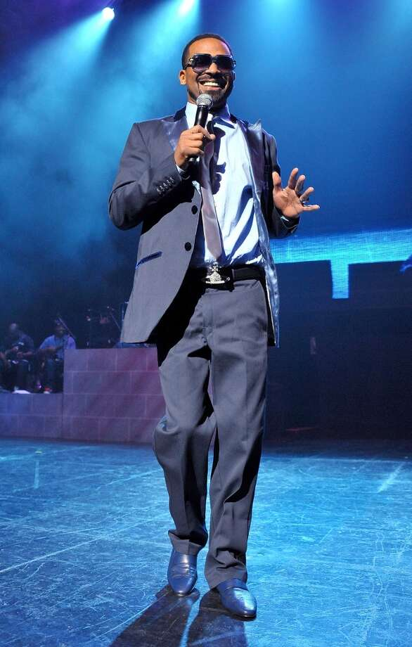 Mike Epps performs live with Doug E. Fresh at the Webster Bank Arena in Bridgeport, Conn., on Saturday, May 11, 2013..