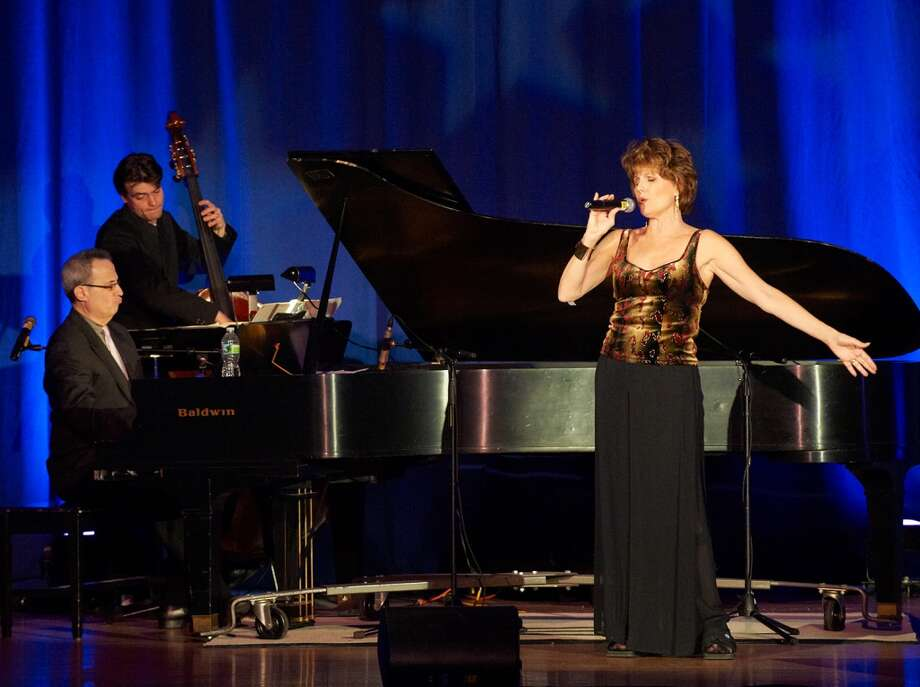 Lucie Arnaz and David Friedman perform at last year's musical extravaganza hosted by the Unity Center in Norwalk.