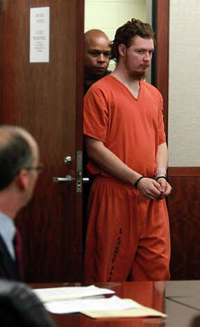Dylan Andrew Quick, the 20-year-old charged in the April 9 mass stabbing of 14 people at Lone Star College-Cy Fair, is denied bail in the 339th state District Court   at the Harris County Criminal Courthouse on Friday, May 10, 2013, in Houston. Photo: Mayra Beltran / © 2013 Houston Chronicle