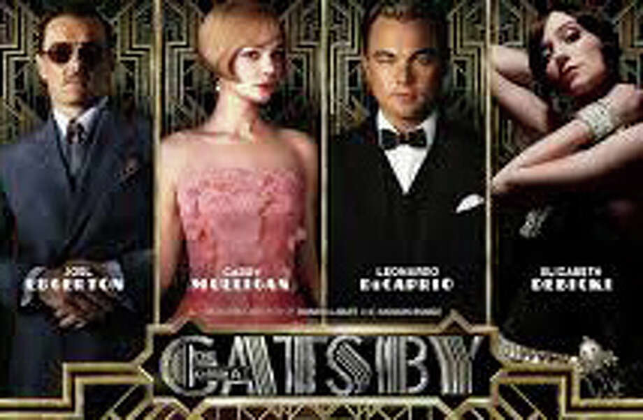 """The new movie version of F. Scott Fitzgerald's, """"The Great Gatsby,"""" is playing in area theaters. Photo: Contributed Photo / Westport News contributed"""