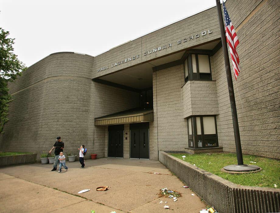 Paul Laurence Dunbar School at 445 Union Avenue in Bridgeport. Photo: Brian A. Pounds, File Photo / Connecticut Post