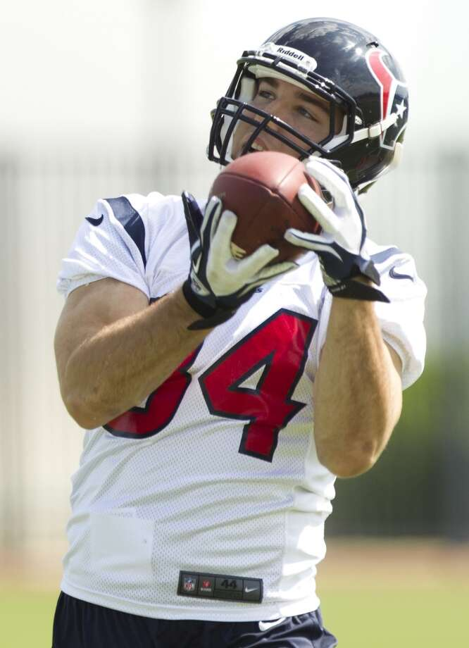 Tight end Ryan Griffin makes a catch.