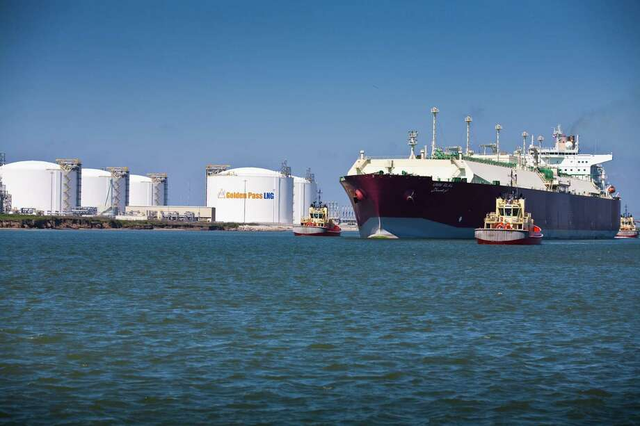 A deal between Exxon Mobil Corp. and Qatar Petroleum International would add a liquefied natural gas export terminal to the existing Golden Pass import terminal in the Port Arthur's Sabine Pass community.  Photo courtesy of Golden Pass Products