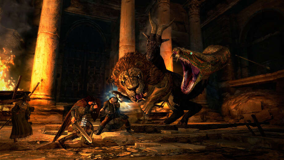 """Dragon's Dogma Dark Arisen,"" often feels like you are playing through the movie ""Jason and the Argonauts."""