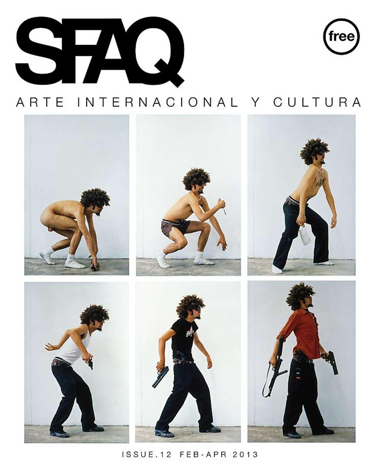 San Francisco Arts Quarterly (SFAQ) covers.