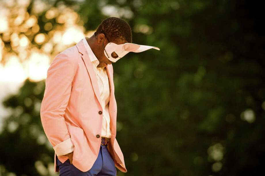 "William Jackson Harper performs as Claudio in Shakespeare on the Sound's 2011 production of ""Much Ado About Nothing."" Photo: Greenwich Time"