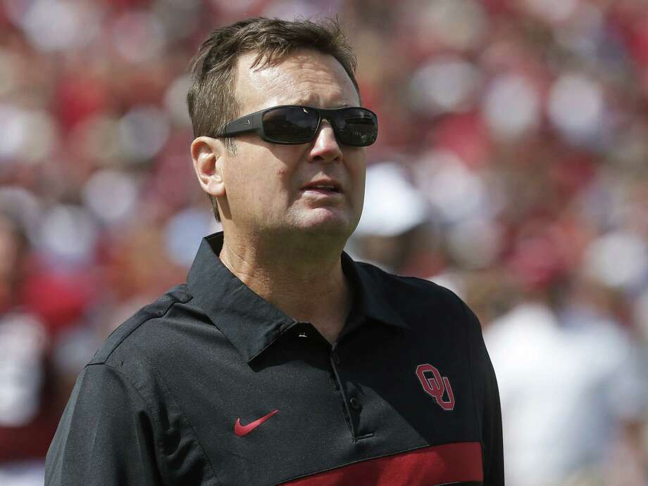 Oklahoma coach Bob Stoops scoffed at the strength of the SEC, which includes winners of the last seven national titles, suggesting it's overrated. Photo: Sue Ogrocki / Associated Press