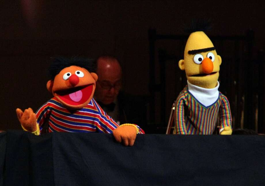 In 2011, ''Sesame Street'' declared that roommates Bert and Ernie are just puppets that ''do not have a sexual orientation.''