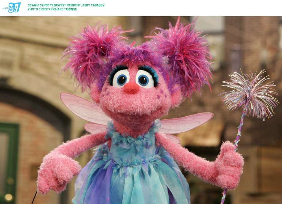 More she-Muppet power arrived in 2006, with Abby Cadabby, a ''fairy-in-training.'' As the girliest, sparkliest Muppet on ''Sesame Street,'' she appealed to the Disney princess-Tinker Bell set.