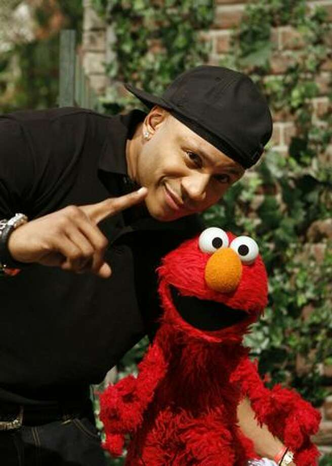 LL Cool J sang ''Addition Expedition'' with Elmo. / PBS