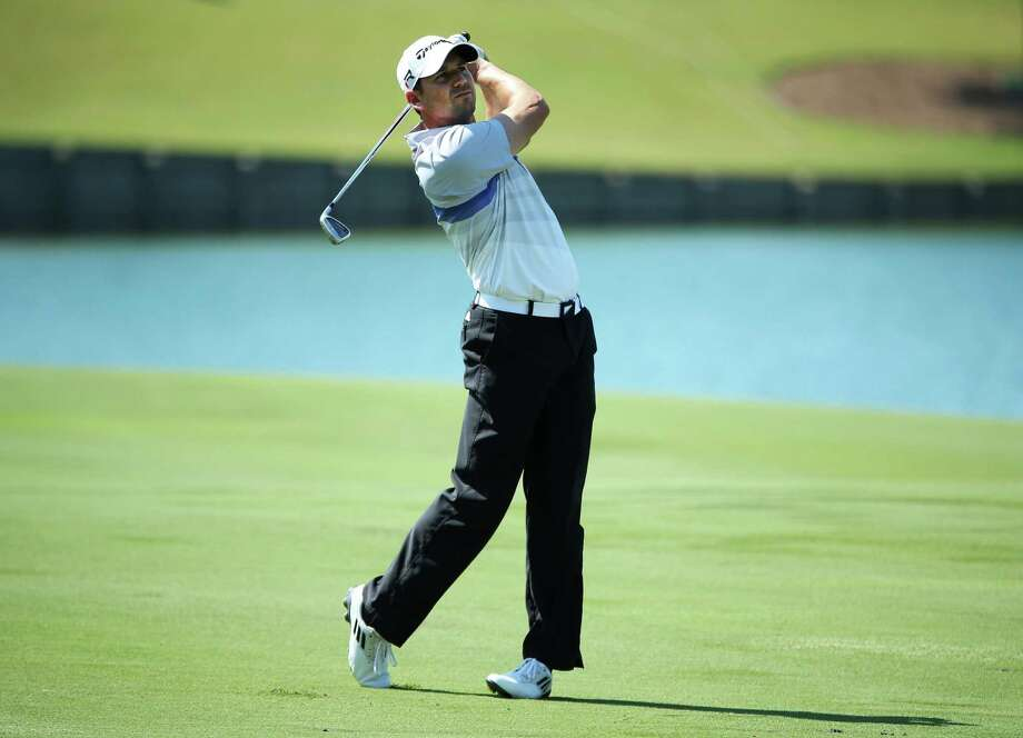 PONTE VEDRA BEACH, FL - MAY 10:  Sergio Garcia of Spain plays his second shot on the 18th hole during round two of THE PLAYERS Championship at THE PLAYERS Stadium course at TPC Sawgrass on May 10, 2013 in Ponte Vedra Beach, Florida.  (Photo by Andy Lyons/Getty Images) Photo: Andy Lyons