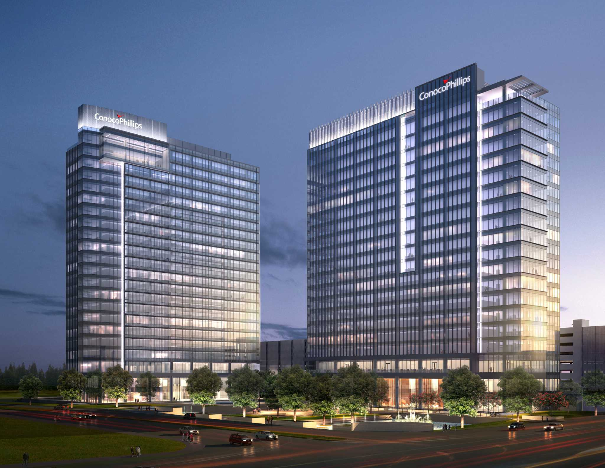Conocophillips has new space lined up houston chronicle for Cost to build a house in houston