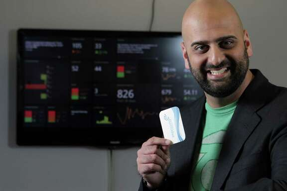 Molecule Software CEO Sameer Soleja says his firm, which provides Web-based energy trading software, targets small companies.