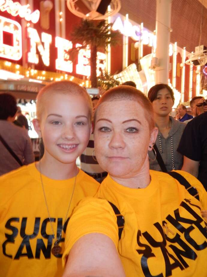 Some mothers support their daughter's through cancer. Photo: Cherri Chiodo
