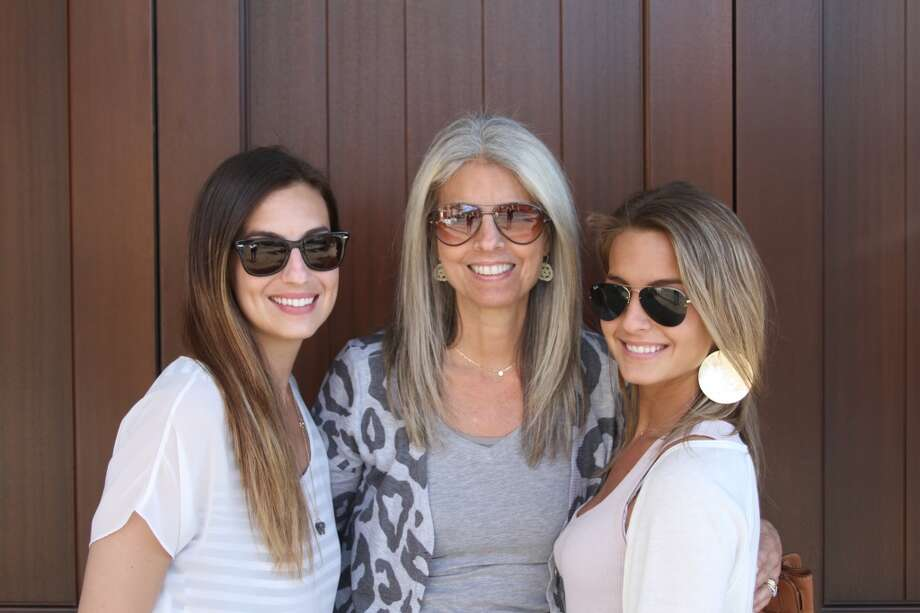 Some mothers and daughters wear sunglasses. Photo: Robin Rose