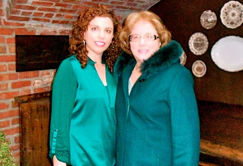 This mother and daughter both love wearing the color green. Photo: Stephanie Moore