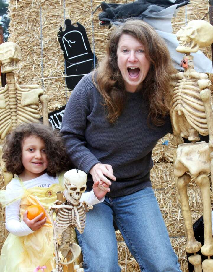 Some mothers and daughters like skeletons. Photo: Jen Personal
