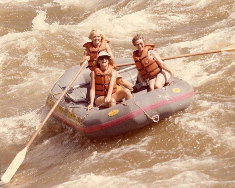 Some mothers and daughters brave wild rapids together. Photo: Debbie Bliss