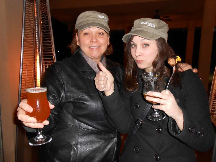 This mother and daughter drink craft beer together. Photo: Debra DeAngelo