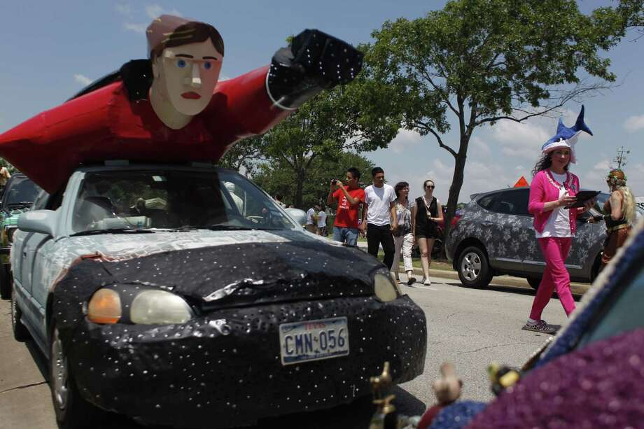 Art Car Parade Saturday. Photo: Johnny Hanson/Chronicle