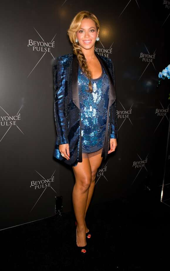 Beyonce attends the Beyonce Pulse fragrance launch at Penthouse (PH-D) at Dream Downtown on September 21, 2011 in New York City.  (Photo by Gilbert Carrasquillo/FilmMagic)