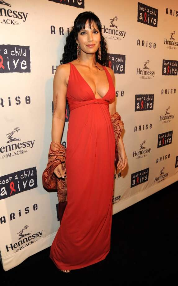 Padma Lakshmi attends Keep A Child Alive's 6th Annual Black Ball hosted by Alicia Keys and Padma Lakshmi at Hammerstein Ballroom on October 15, 2009 in New York City.  (Photo by Kevin Mazur/WireImage)