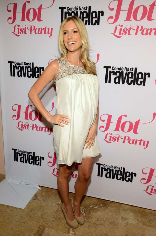 TV Personality Kristin Cavallari attends the Conde Nast Traveler Hot List Party at the Hotel Bel-Air on April 12, 2012 in Los Angeles, California.  (Photo by Michael Kovac/WireImage)