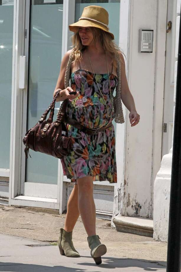 Sienna Miller seen in Primrose Hill on May 24, 2012 in London, England. (Photo by Neil Mockford/FilmMagic)