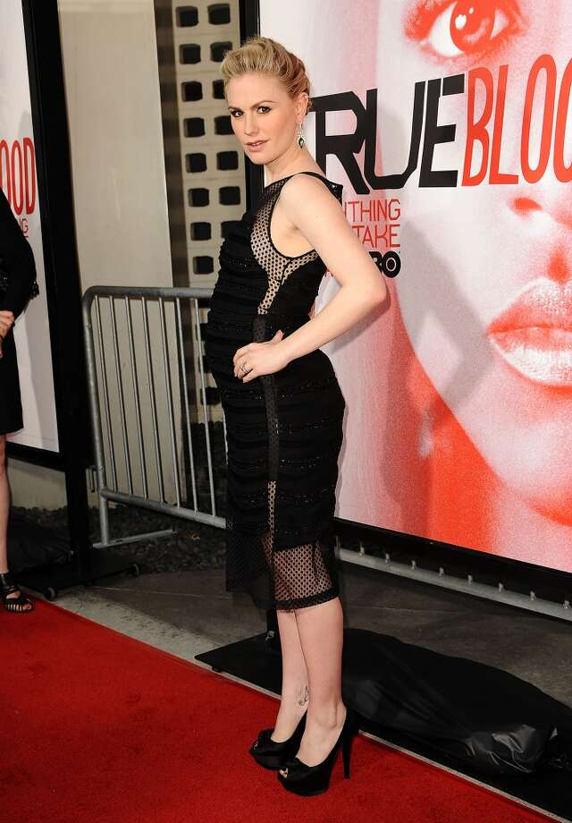 """Actress Anna Paquin attends the season 5 premiere of HBO's """"True Blood"""" at ArcLight Cinemas Cinerama Dome on May 30, 2012 in Hollywood, California.  (Photo by Jason LaVeris/FilmMagic)"""